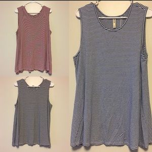 Lot of 3 Jane Hudson tank tops XL